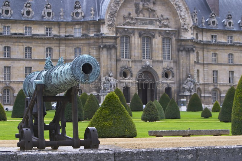 Download Les Invalides stock photo. Image of famous, arch, artillery - 4497726