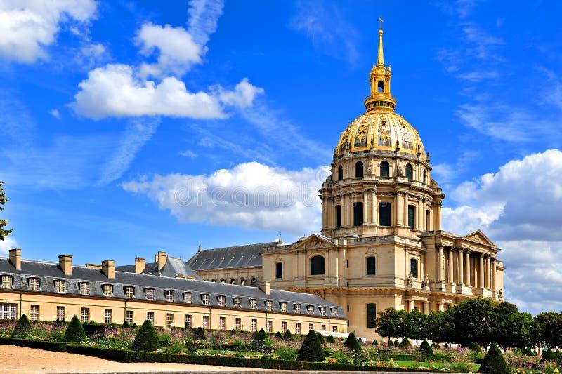 Les Invalides em Paris, France fotos de stock