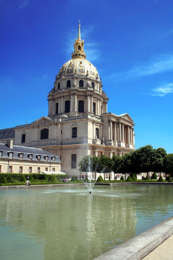 Les Invalides, París imágenes de archivo libres de regalías