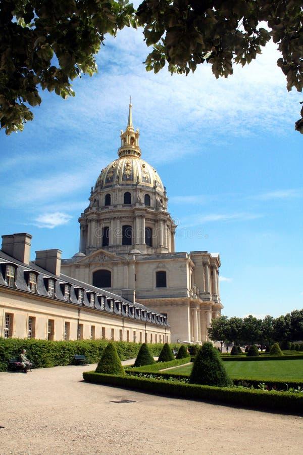 Les Invalides, París fotos de archivo libres de regalías