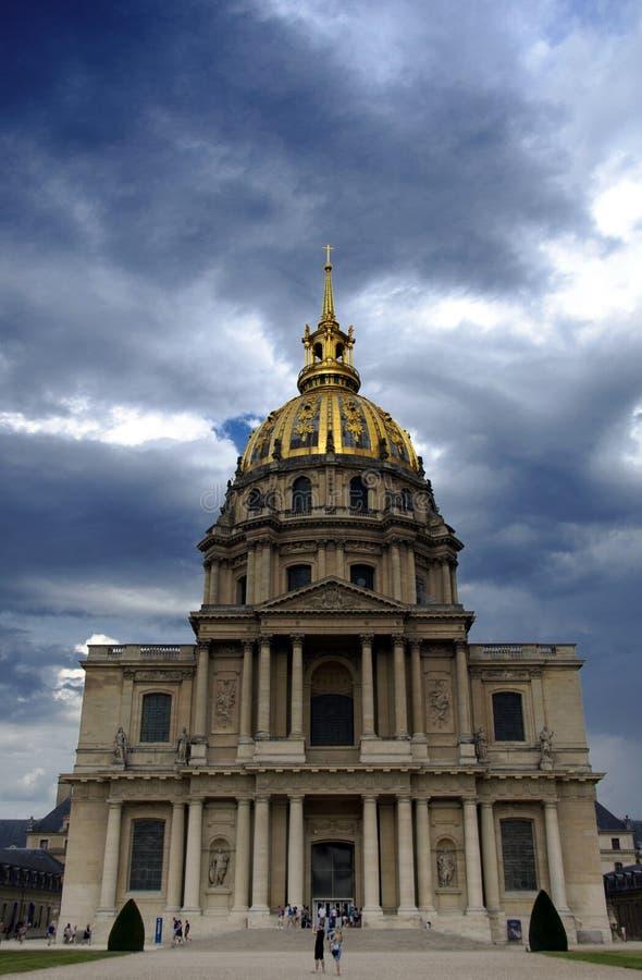 Les Invalides, Paryż zdjęcie royalty free