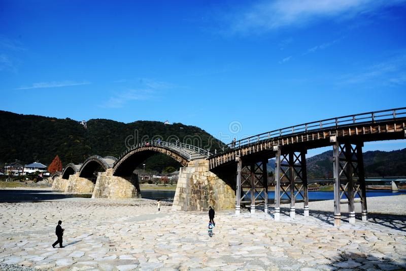 Download Les Japonais Célèbres Wodden Le Pont/Kintaikyo Image éditorial - Image du trois, most: 87704215