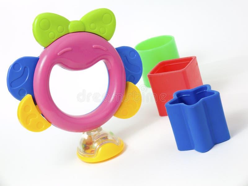 Les jouets de la chéri photographie stock libre de droits
