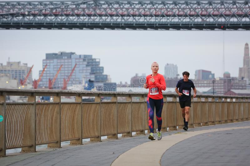 LES5K REVEL RUN 10.06.2019. Run/walk is inspired by and in memory of Pavel Lempert. A day that promotes health, fitness, diversity and unity to benefit youth royalty free stock photos