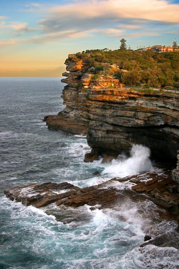 Les lacunes, compartiment de Watson, Sydney photographie stock libre de droits
