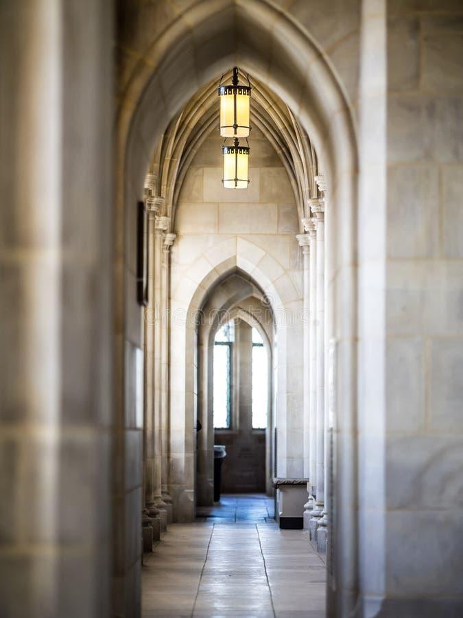 Les lampes de la cathédrale photos stock