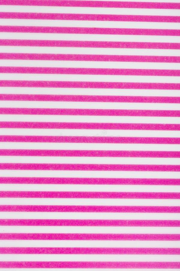 Les lignes de rose et blanches papier de modèle pour papier peint de textile motif de remplissage l'écharpe extérieure d'envelopp photo stock