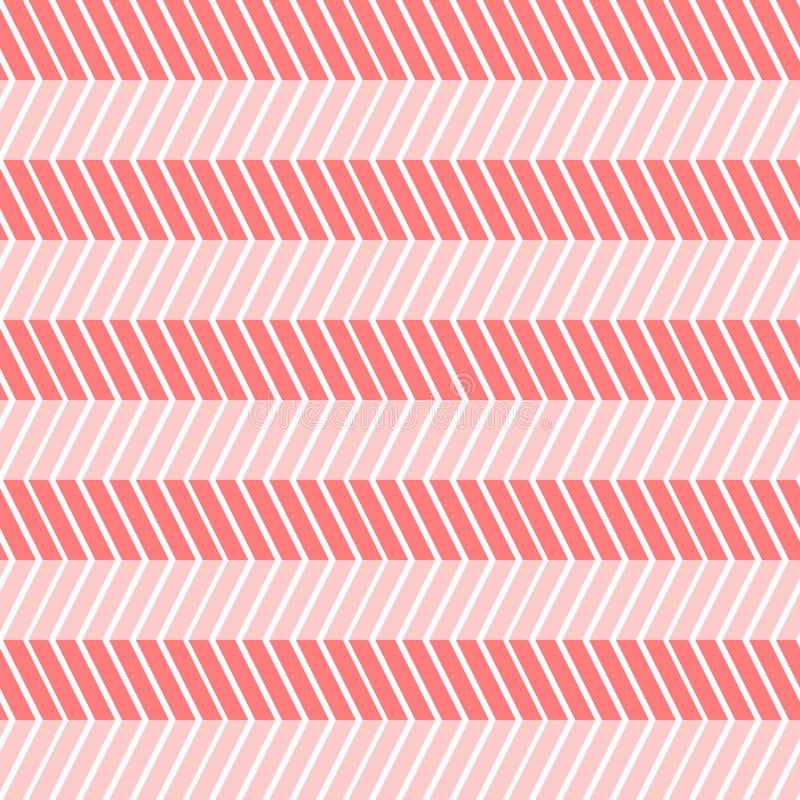 Les lignes tordues sans couture zigzaguent fond illustration stock