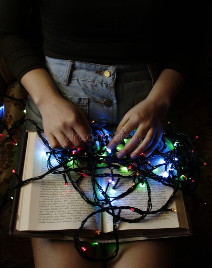 Les livres sont lumière de notre esprit image stock