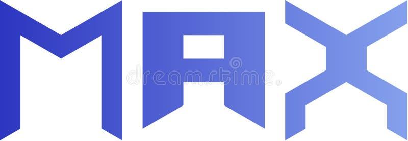 Les logos maximum sont frais image stock