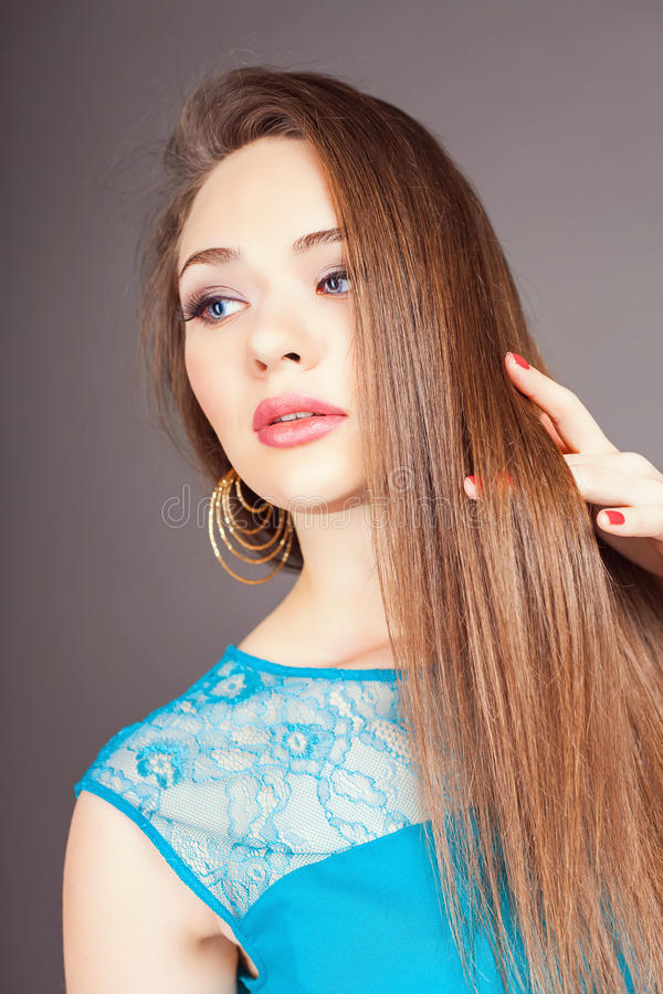 Beau cheveux long femme