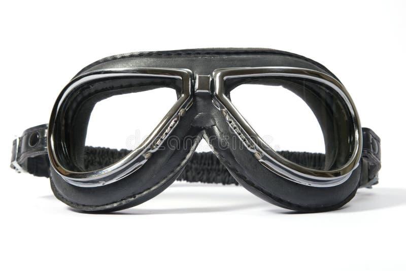 Les lunettes du pilote photographie stock libre de droits