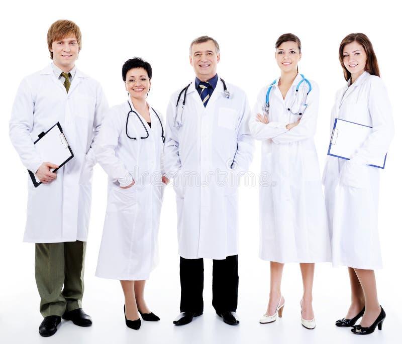 les médecins rament la position ensemble photo libre de droits