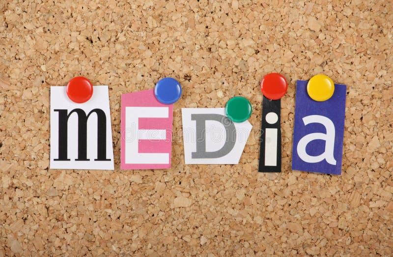 Collage de médias photos libres de droits