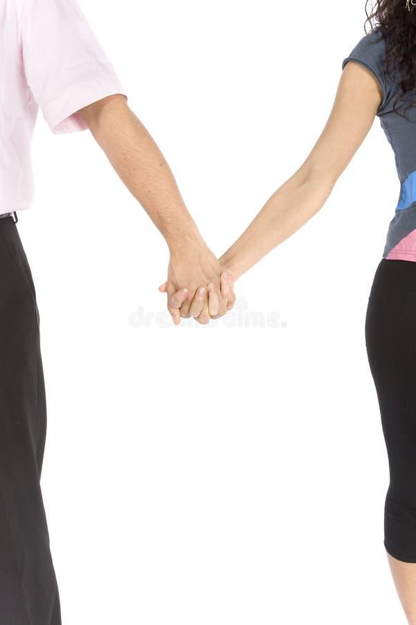 Les mains du couple photos stock