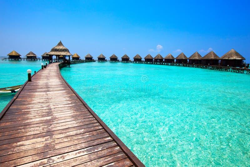 Les Maldives. images libres de droits