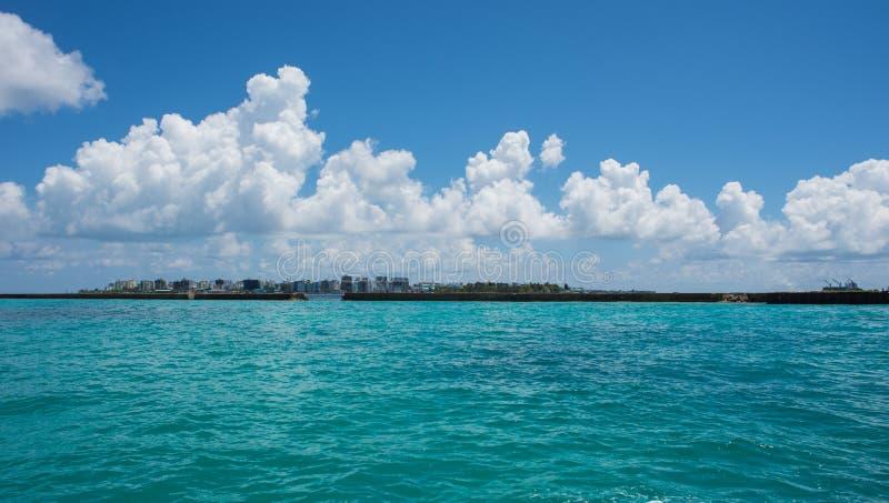 Les Maldives Kani île en avril 2015 photographie stock
