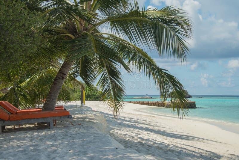 Les Maldives Kani île en avril 2015 photographie stock libre de droits