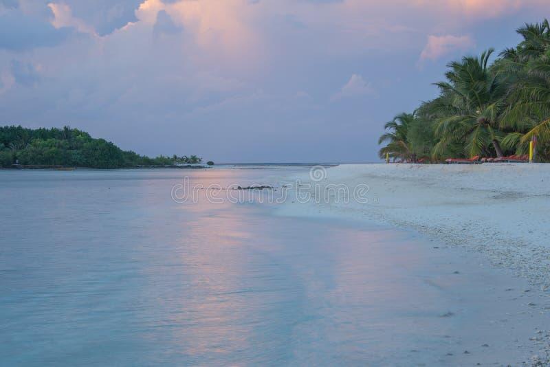 Les Maldives Kani île en avril 2015 photos stock