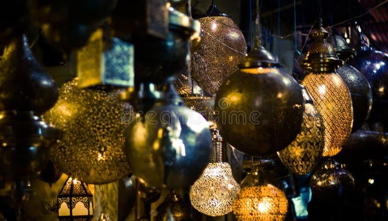 Les marchés en Médina images libres de droits