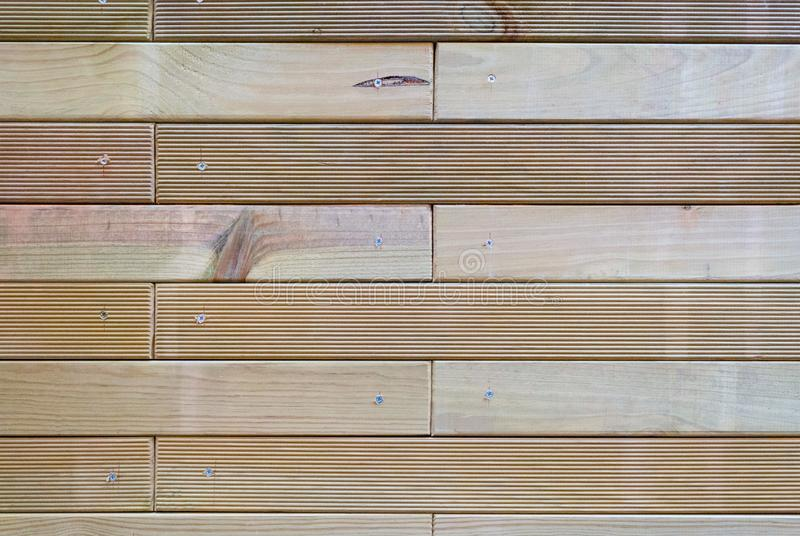 Les matrices en bois ont vissé photos stock