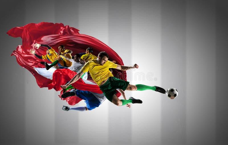 Les meilleurs moments du football photo stock
