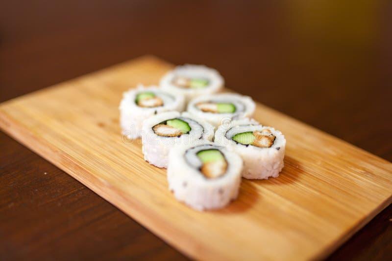 Les meilleurs sushi jamais photographie stock libre de droits