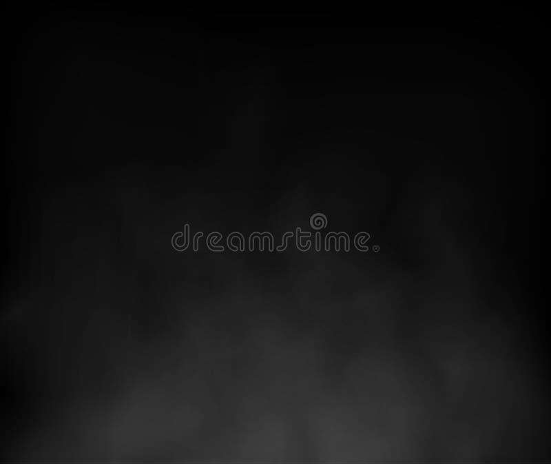 Les milieux abstraits de nuage et de fumée soustraient le vecto de composition illustration de vecteur