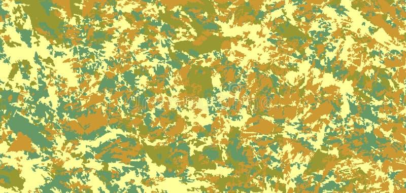 Les militaires camouflent Fond de pixel de vecteur illustration libre de droits
