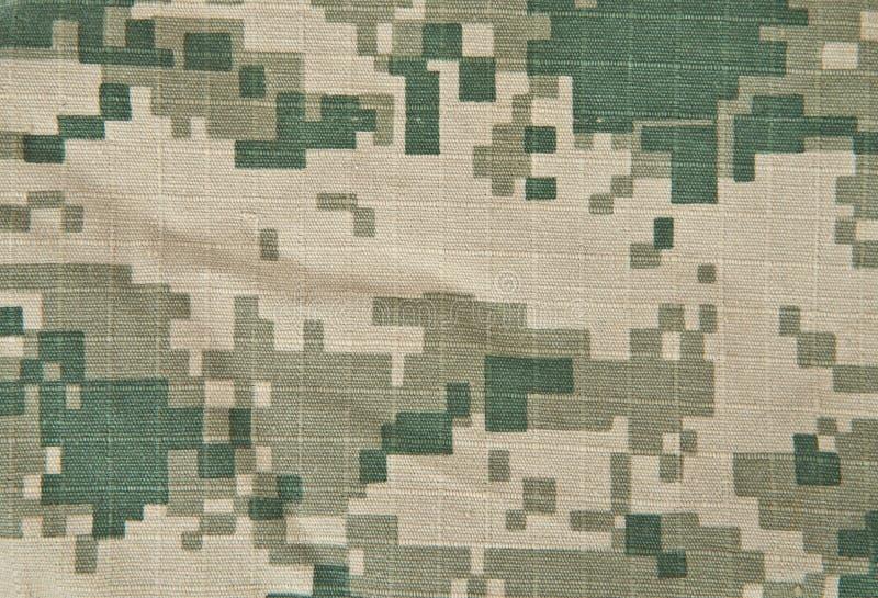 Les militaires camouflent l'ACU de fond images stock