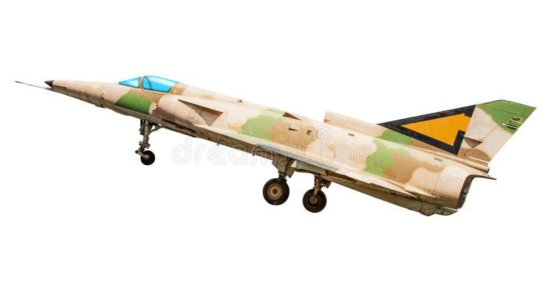 Les militaires combattent l'avion photographie stock