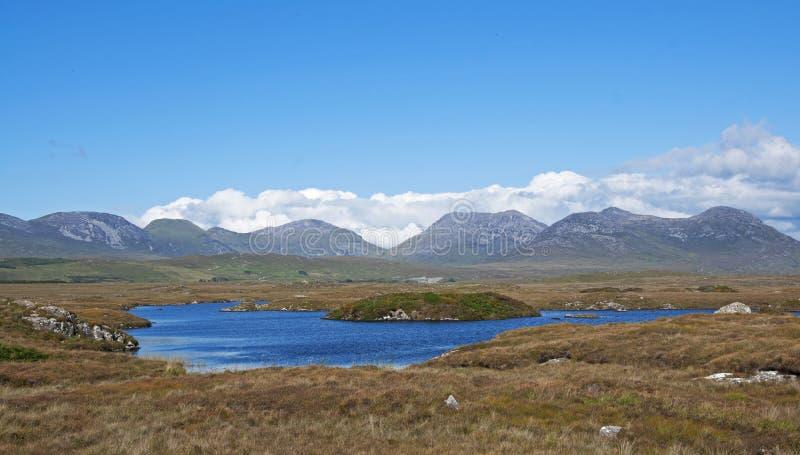 Les montagnes de Connemara image stock