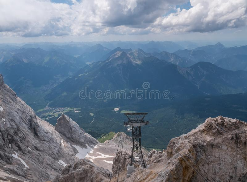 Les montagnes des Alpes au Tyrol, Autriche photographie stock
