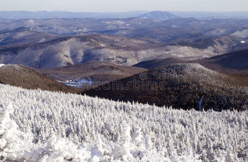 Les montagnes du Vermontn photo libre de droits