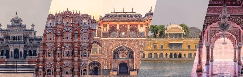 Les monuments de la ville de Jaipur photo libre de droits
