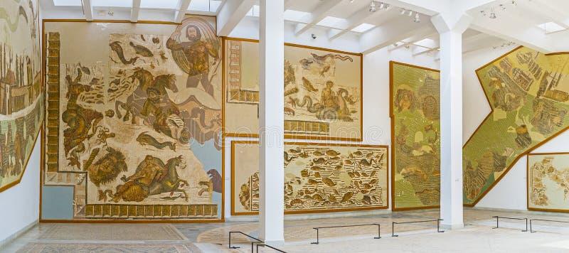 Download Les Mosaïques Préservées Dans Le Musée Photo éditorial - Image du construction, configuration: 77160576