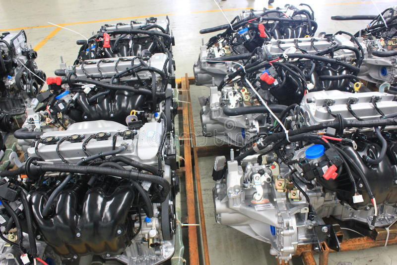 Les moteurs photo stock