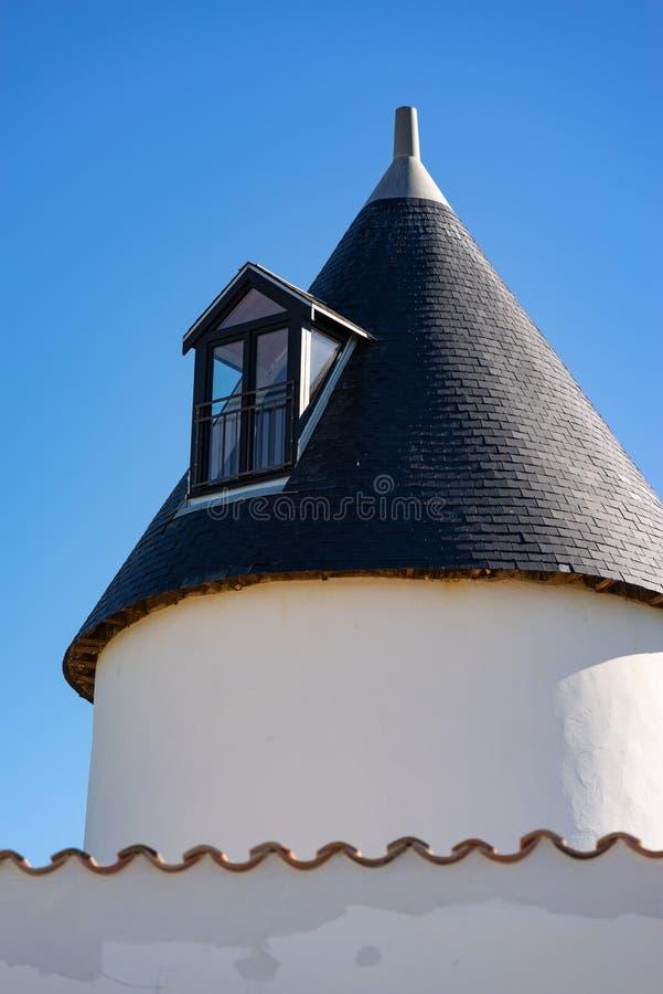 Les moulins de la Boire e de la Grelière fotos de stock royalty free