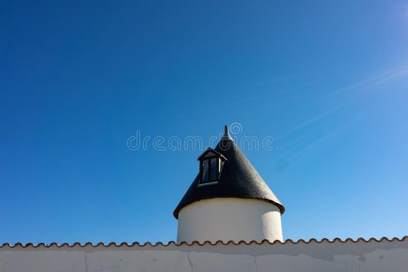 Les moulins de la Boire e de la Grelière imagens de stock