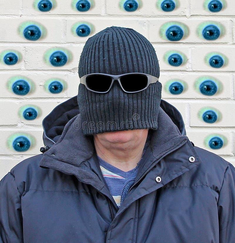 Les murs ont des yeux ! image libre de droits