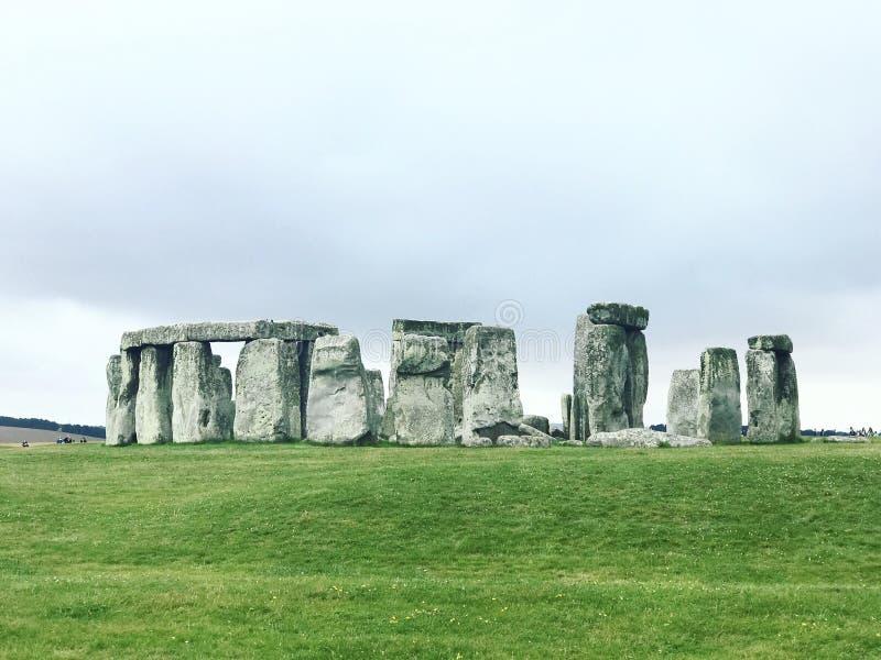 Les mystères de la pierre Henge photographie stock libre de droits