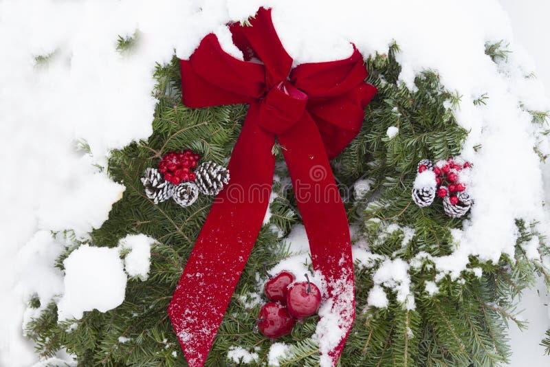 Les orages de Noël images libres de droits