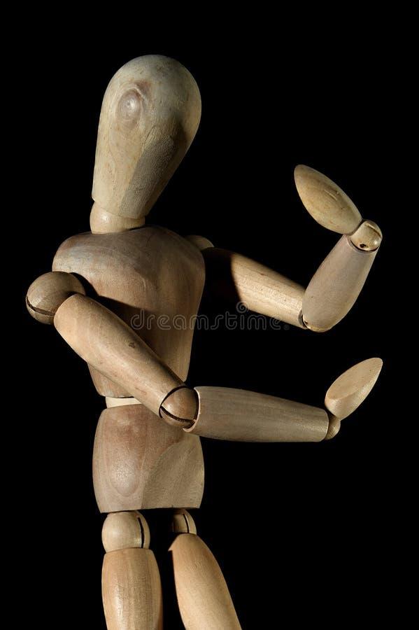 Les périphériques d'Anime modèlent le maharashtra INDE de Joint Man Toy Ornaments Wooden Models Kalyan image stock