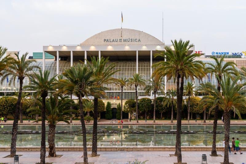 Download Les Palaos De La Musica De Valence Photo éditorial - Image du exposition, ville: 76077331