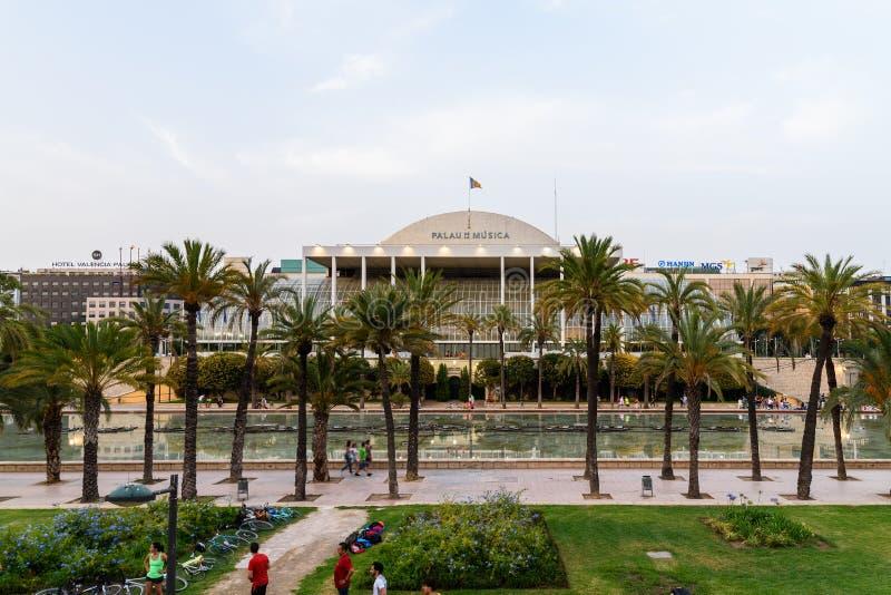 Download Les Palaos De La Musica De Valence Image stock éditorial - Image du cinéma, palais: 76077359
