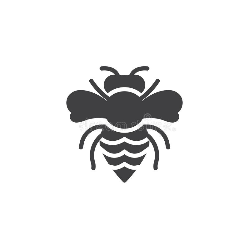 Les parasites de guêpe dirigent l'icône illustration libre de droits