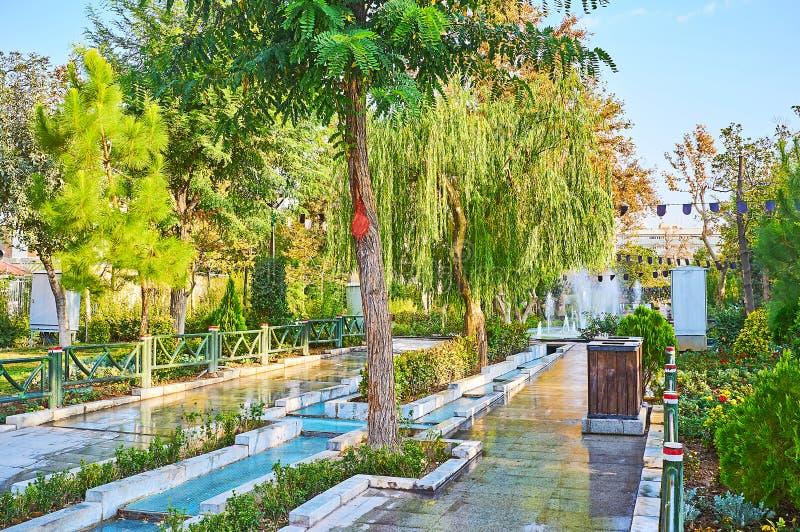 Les parcs scéniques de Téhéran photo stock