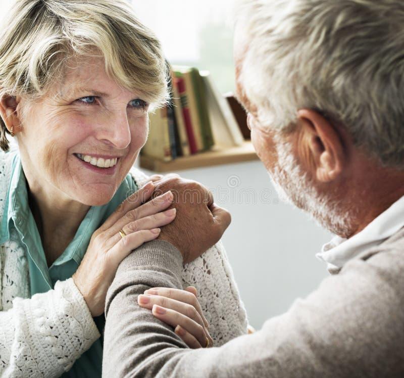 Les parents d'intimité de santé de soin d'affection ont fixé le concept image libre de droits