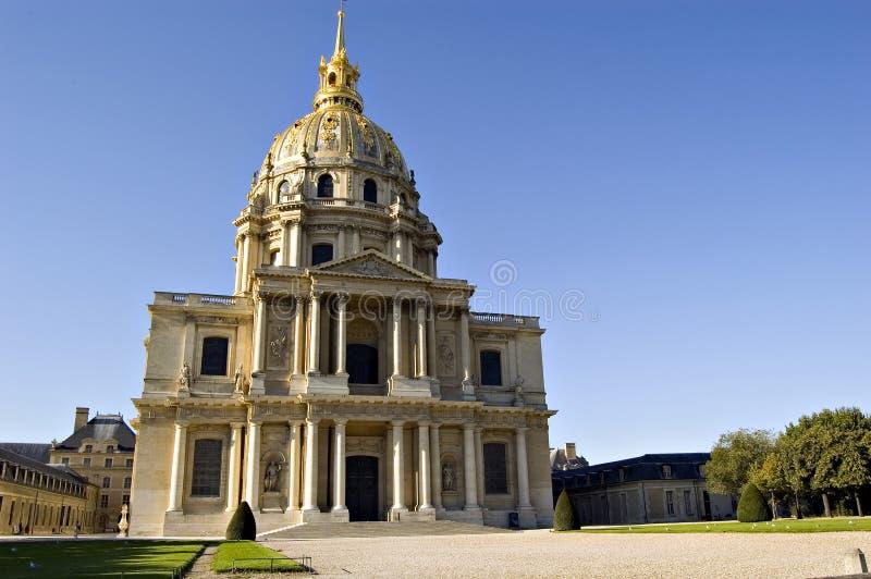 les paris invalides Франции стоковое фото