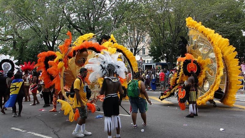 Les 2014 parties indiennes occidentales 21 de défilé de jour photos stock